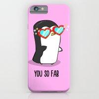 Fabulous Penguin iPhone 6 Slim Case
