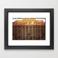Brussels Tavern Framed Art Print