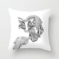 Reynard Fox Throw Pillow