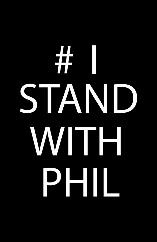 Stand With Phil Art Print