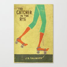 the catcher in the rye Canvas Print