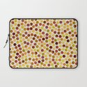Watercolor Dots_Amber Laptop Sleeve