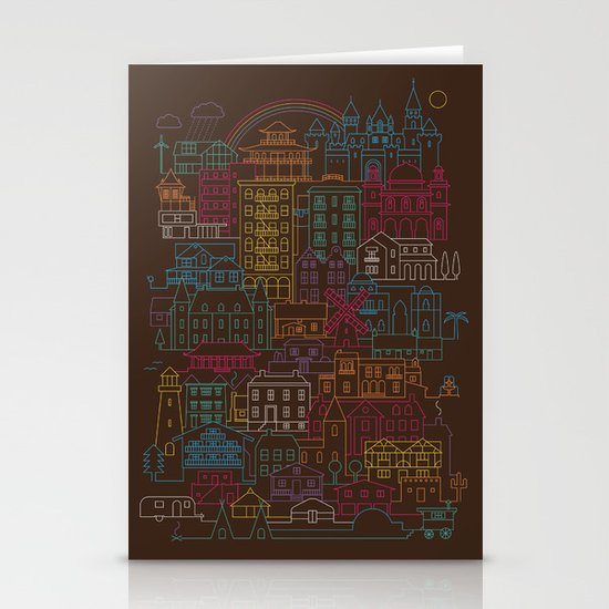 Home Sweet Home Stationery Card