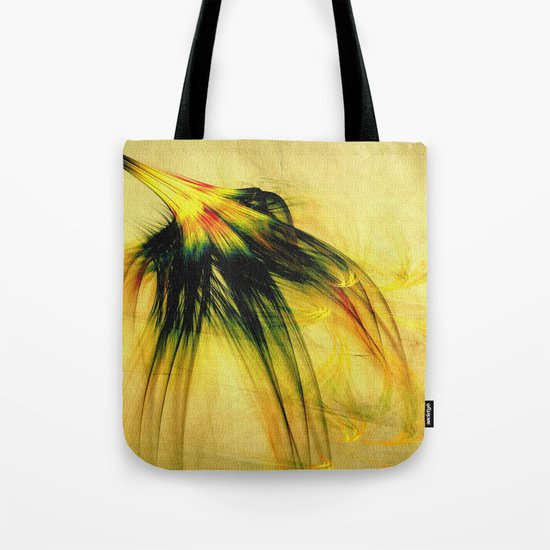 Flower in the Wind 2 Tote Bag