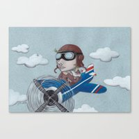 aviator Canvas Print