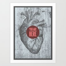 In My Heart Art Print
