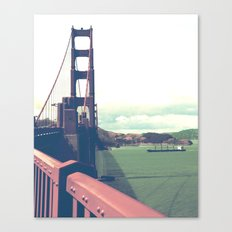 red gold 1 Canvas Print