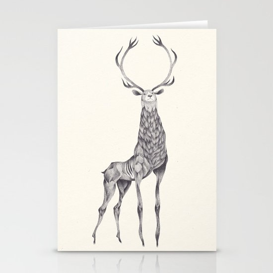 skyfall Stationery Card