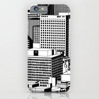 Hong Kong Black and White iPhone 6 Slim Case