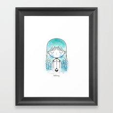 Tide Framed Art Print