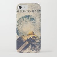 mountain iPhone & iPod Cases featuring One mountain at a time by HappyMelvin