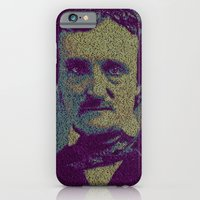 iPhone Cases featuring Edgar Allan Poe. by Robotic Ewe