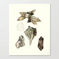Crystal Studies Canvas Print
