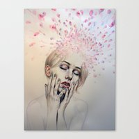 Burst Apart Canvas Print