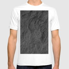 Trama White SMALL Mens Fitted Tee