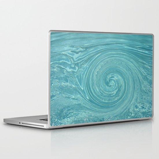 Swirls of time Laptop & iPad Skin
