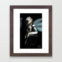 Silver Lining [Digital Art and Figure Illustration] Framed Art Print