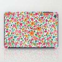 Watercolor Floral iPad Case