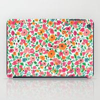 Watercolor Floral iPad Case