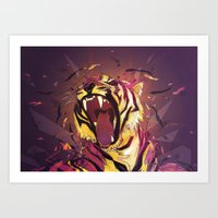 Lost Stripes Art Print
