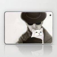 Cat And Alien Laptop & iPad Skin