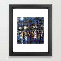 Colonial Lake, Charlesto… Framed Art Print