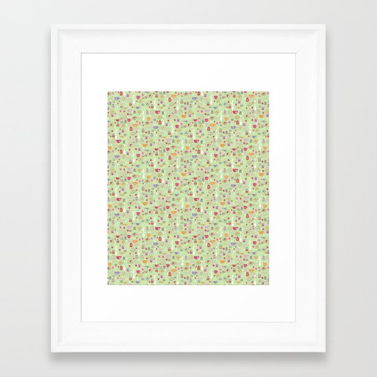 Tea & Toast Framed Art Print