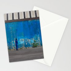 Paint it blue Stationery Cards