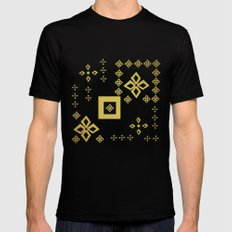 shapes SMALL Black Mens Fitted Tee