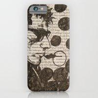 Bob Dylan Smoking the Blues iPhone 6 Slim Case