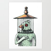 Catch spirit Art Print