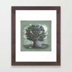 Tree Spirits  Framed Art Print