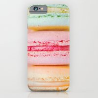 iPhone & iPod Case featuring Happy Macarons by JoyHey