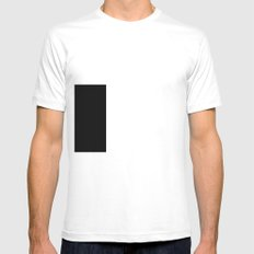 Fenna White Mens Fitted Tee SMALL