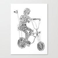 A boy's thing Canvas Print