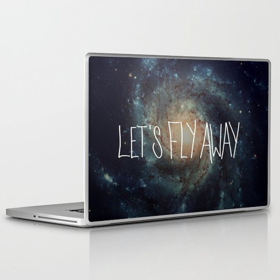 Let's Fly Away (come on, darling) Laptop & iPad Skin