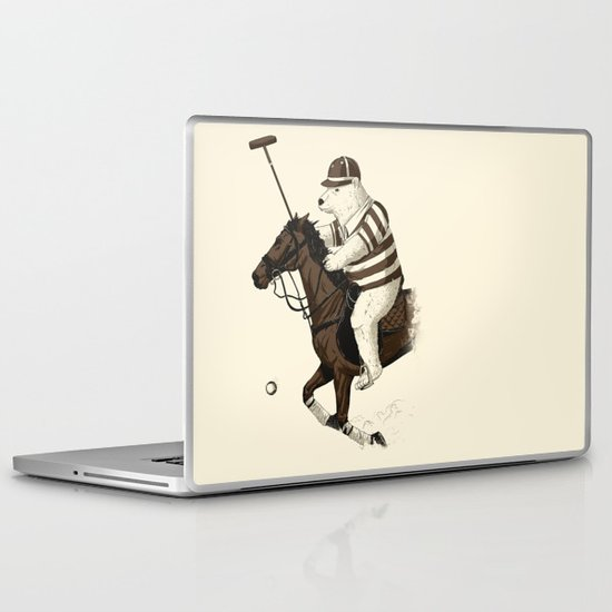 Polobear Laptop & iPad Skin