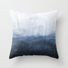 The Storm - Ocean Painting Throw Pillow