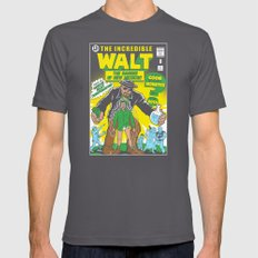 The Incredible Walt Mens Fitted Tee Asphalt SMALL