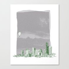 Seattle Canvas Print