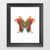 Butterfly Rorschach, Ya Know, For Kids! Framed Art Print