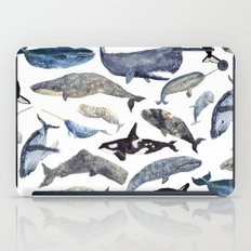 Whale Song iPad Case