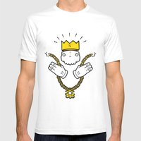 Run'N'Gun Mens Fitted Tee White SMALL