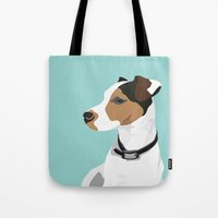 Dog - Jack Russell Tote Bag