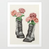 Shoe Bouquet III Art Print