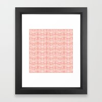 MCM Mistletoe Framed Art Print