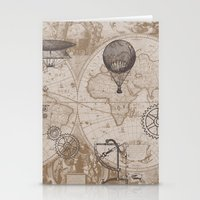 Gears Of Flight Stationery Cards