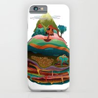 iPhone & iPod Case featuring The Mountain by BrainSoup