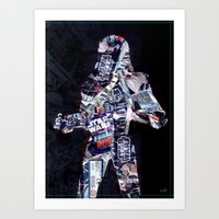 Cut StarWars Blister Collage 3 Art Print