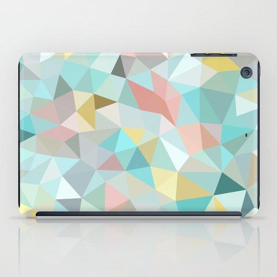 Pastel Tris iPad Case